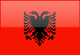 Country flag of Albania