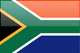 Country flag of South Africa
