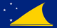 Country flag of Tokelau