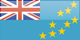 Country flag of Tuvalu