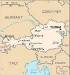 Country map of Austria