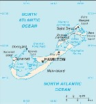 Country map of Bermuda