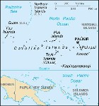Country map of Federated States Of Micronesia