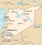 Country map of Syria
