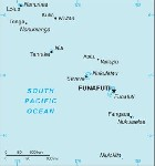 Country map of Tuvalu